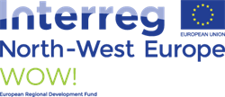 logo Interreg North-West Europe WOW!